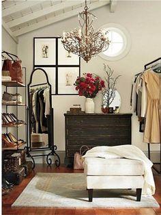 Dressing room organization