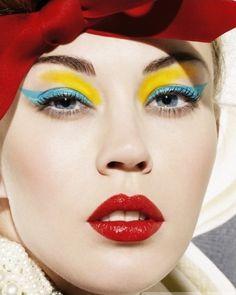bold makeup...a modern take on vintage glamour...#spadelic #makeup #studiocrushatlanta