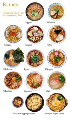Japanese ramen, a classic trinity of soup, noodles, and toppings, has its roots in China. Whereas the Chinese version is served with an all-purpose broth that also flavors stir-fried foods and other dishes, ramen soup in Japan is prepared especially for this dish.