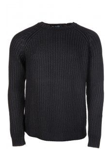 Blood Brother Skin #Knitted Jumper in Black.
