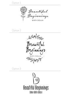 Beautiful Beginnings Doula Logo #graphicdesign #doula