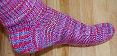 Ravelry: Comfy Soled Socks pattern by Susan Zivec