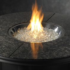 Fire Glass Grand Colonial Gas Fire Pit Table | WoodlandDirect: Outdoor, Outdoor Fireplaces, Fire Pit Tables