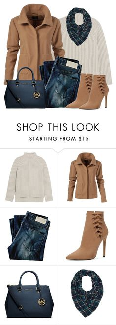 """Untitled #1272"" by gallant81 ❤ liked on Polyvore featuring Theory, Calvin Klein Jeans, ALDO, Michael Kors and Charlotte Russe"