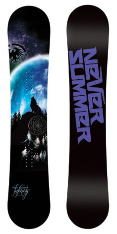 Never Summer Women's Infinity Snowboard 2013