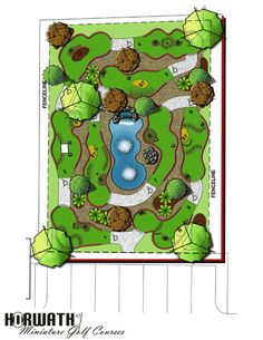USA Miniature golf course builder, high quality mini golf construction with an experienced mini golf course designer  for the back yard