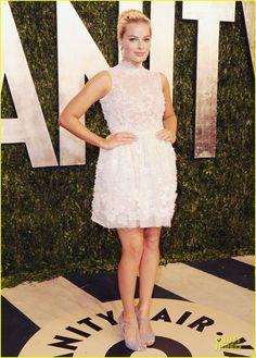 Margot Robbie.    Vanity Fair Oscars Party