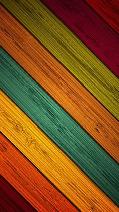 Multicolored Wood wallpaper