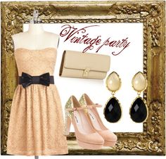 """Vintage"" by magiccili on Polyvore"