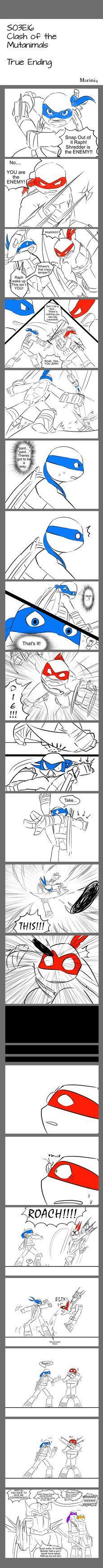 TMNT comic 1 - Clash of Mutanimals TRUE ENDING by Marini4 on DeviantArt