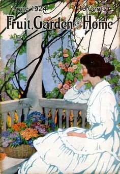 Fruit, Garden and Home cover, June 1924