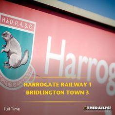 FT: Harrogate Railway 1-3 Bridlington Town    @therailfc @bridtownafc @howell_rm
