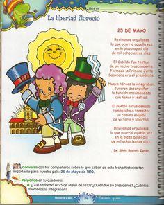 25 de mayo infantiles revolucion de 1810 (20) Sarah Kay, Sign Language, Winnie The Pooh, Disney Characters, Fictional Characters, Preschool, Education, Instagram, Salvador