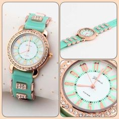 HOST PICK 9.4.15 Dial Teal Watch IF U ARE INTERESTED TO PURCHASE PLEASE LET ME KNOW SO I CAN MAKE A SEPARATE ORDER. Looks just like the pictures. NWOT Jewelry