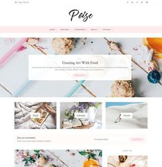 Poise - WordPress Blog Theme by Lucid Themes on @creativemarket