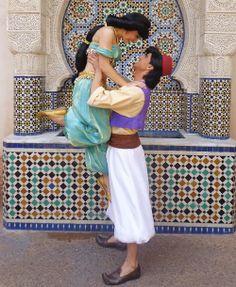 I choose you, Aladdin