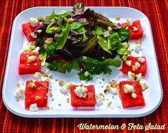 The Weekend Gourmet: September Recipe Club...Featuring Watermelon & Feta Salad