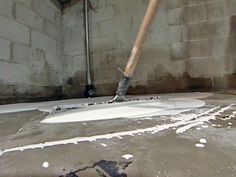 prepping unfinished basement for reno