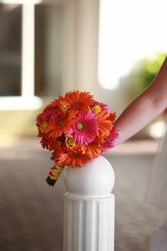 bright wedding flower bouquet, bridal bouquet, wedding flowers, add pic source on comment and we will update it. www.myfloweraffair.com can create this beautiful wedding flower look.