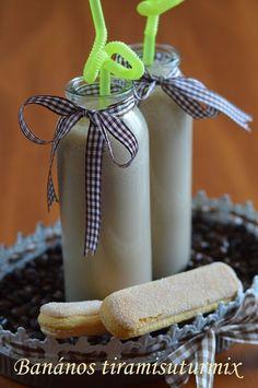 Banános tiramisuturmix Smoothie, Shake, Food, Yogurt, Essen, Smoothies, Meals, Yemek, Eten