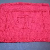 Scales of Justice Dishcloth ~ free knit via @Craftsy