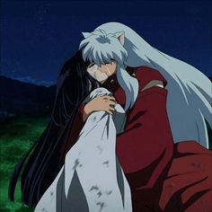 inuyasha and kikyou sad ending. Cried during this part. Inuyasha Fan Art, Inuyasha And Sesshomaru, Inuyasha Funny, Miroku, Kagome Higurashi, Old Anime, Anime Art, Fan Fiction, Manga Dbz