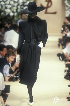 Yves Saint Laurent, Autumn-Winter 1989, Couture