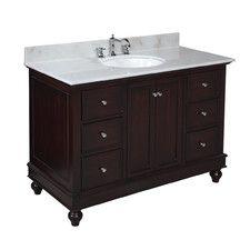 All Bathroom Vanities - Style: Traditional, Number Of Sinks: Single | Wayfair