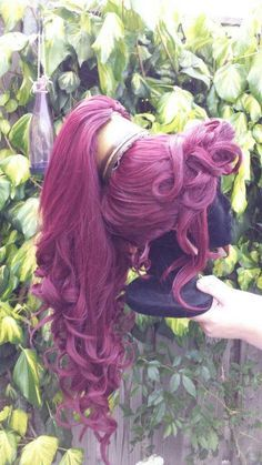 [Tutorial] Megara's wig - real pain in the patella, unraveled