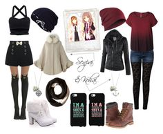 """Senpai & Kohai *^-^*"" by toy-chica2 ❤ liked on Polyvore featuring Keds, Chicwish, FRACOMINA, SOREL, Dex, Timberland, Polaroid and plus size clothing"