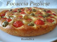 Canadian cuisine – The Very Best Pizza recipes White Pizza Recipes, Italian Recipes, Vegan Recipes, Cooking Recipes, Focaccia Pizza, Focaccia Recipe, Antipasto, Canadian Cuisine, Love Pizza