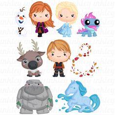 Cute Frozen, Ana Frozen, Frozen Clips, 2 Clipart, Owl Clip Art, Frozen Themed Birthday Party, Disney Princess Drawings, Ice Princess, Kids Prints