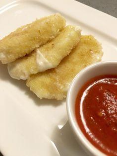Un homme à poêle: Mozzarella fritta