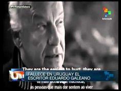 Fallece el escritor uruguayo Eduardo Galeano | Noticias | teleSUR