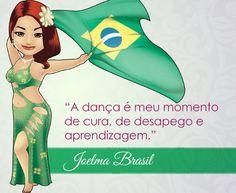 Bem vinda Joelma Brasil! :) #centraldancadoventre #dancadoventre #bellydance #mascote