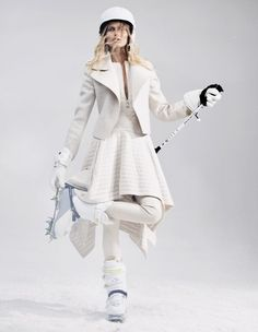 White fashion for women Those travelling to colder climes this winter have carte…
