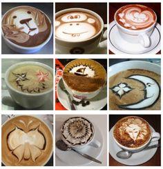 coffee art!