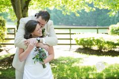 Beautiful summer time wedding at Hawkesdene in the Great Smoky Mountains of Andrews, NC.