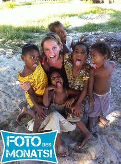 Foto des Monats Dezember 2013! Laura's Abstecher zu den #Fidschi Inseln während ihres #WorkandTravel Abenteuers in #Australien