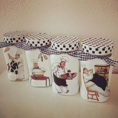 1 million+ Stunning Free Images to Use Anywhere Decoupage Vintage, Decoupage Jars, Vintage Paper, Mason Jar Crafts, Mason Jar Diy, Bottle Crafts, Tin Can Crafts, Diy And Crafts, Painted Jars