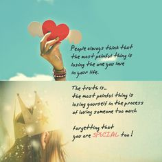 The Most Painful Thing Is Losing Yourself   SayingImages.com-Best Images With Words From Tumblr, Weheartit, Xanga