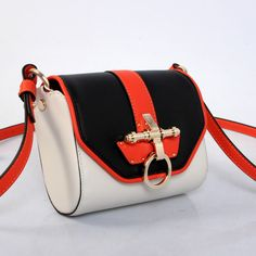 0888318cdd www.givenchyshops.com Givenchy Obsedia Leather Shoulder Bag  givenchy   Obsedia  Leather