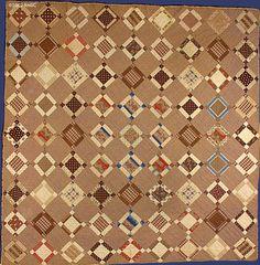 Uneven 9-Patch Quilt