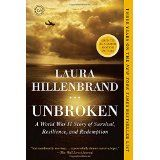 Unbroken by Laura Hillenbrand (read before movie comes out in December)