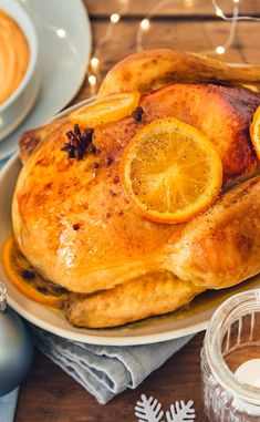 Chapon farci au pain d'épices et au foie gras American Food, Christmas Is Coming, Sugar And Spice, Holiday Recipes, Special Occasion, Spices, Food And Drink, Dinner, Cooking