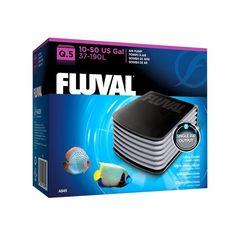 Compresores de Aire  FLUVAL Q - #FaunAnimal Tus peces son más felices cuando su ambiente en el acuario es lo más parecido al mundo natural.  El oxígeno es esencial para su supervivencia.