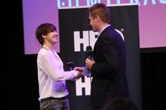 The HBO Award Ceremony for the best Filmteractive Market project - Nullpunkt (Estonia)