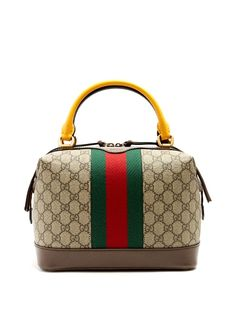 92c278261c GUCCI Gg Supreme Canvas And Leather Bag.  gucci  bags  shoulder bags
