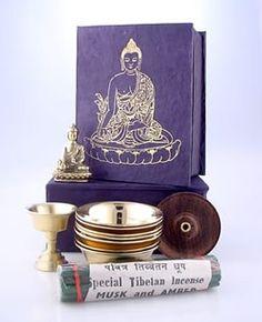 Dharmashop.com - Medicine Buddha Travel Altar, $42.00 (http://www.dharmashop.com/products/Medicine-Buddha-Travel-Altar.html)