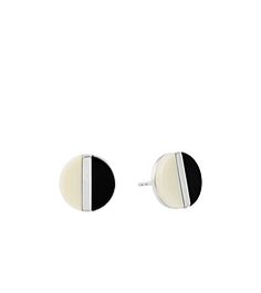 Silver-Tone Color-Block Stud Earrings  by Michael Kors